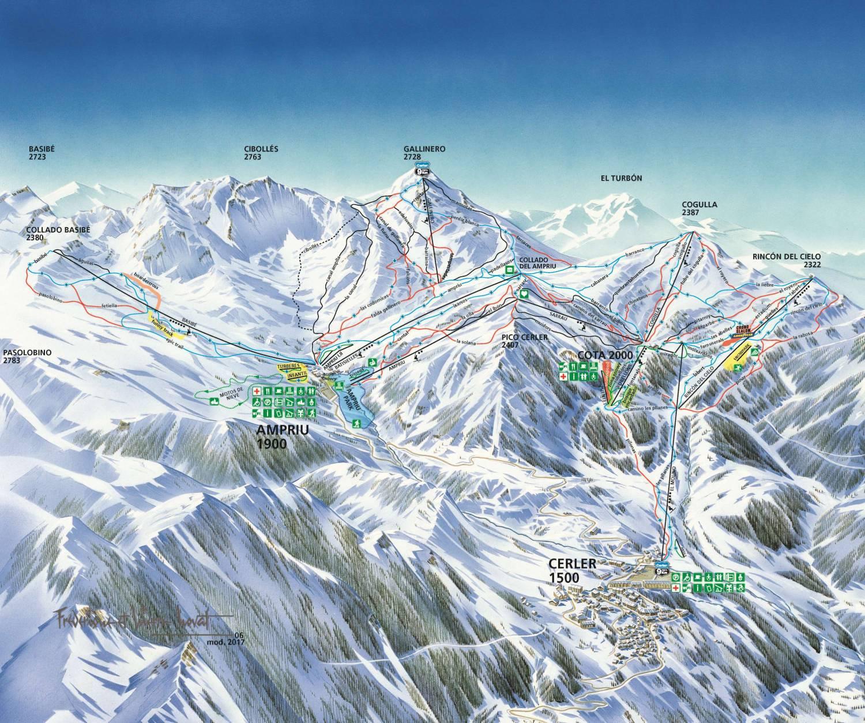 Resultado de imagen de esqui cerler 2020